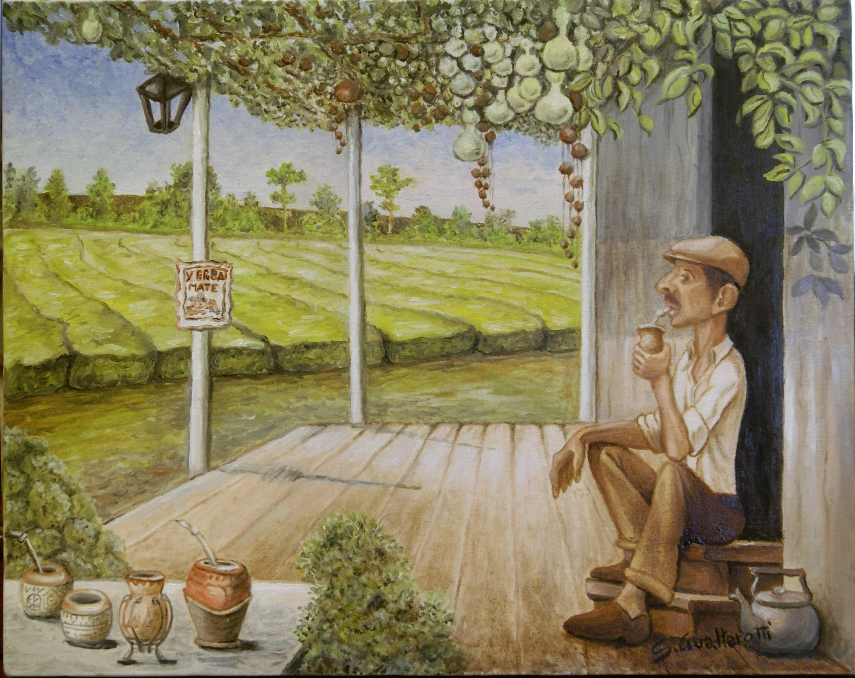 La storia dell'erba mate